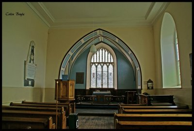 Inside Termonfeckin Church of ireland